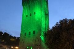 Torre-di-San-Niccolo-illuminata-di-verde-9-ottobre-2020