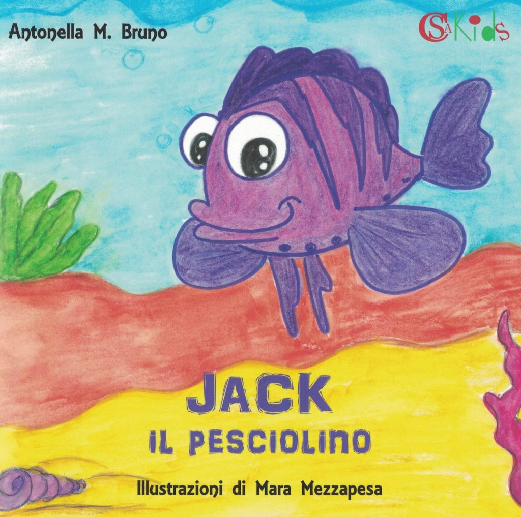 Copertina del libro Jack il pesciolino
